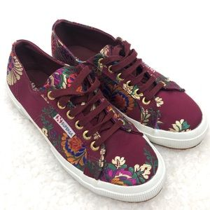 Superga 2750 Korelaw Embroidered Lace Up Sneakers